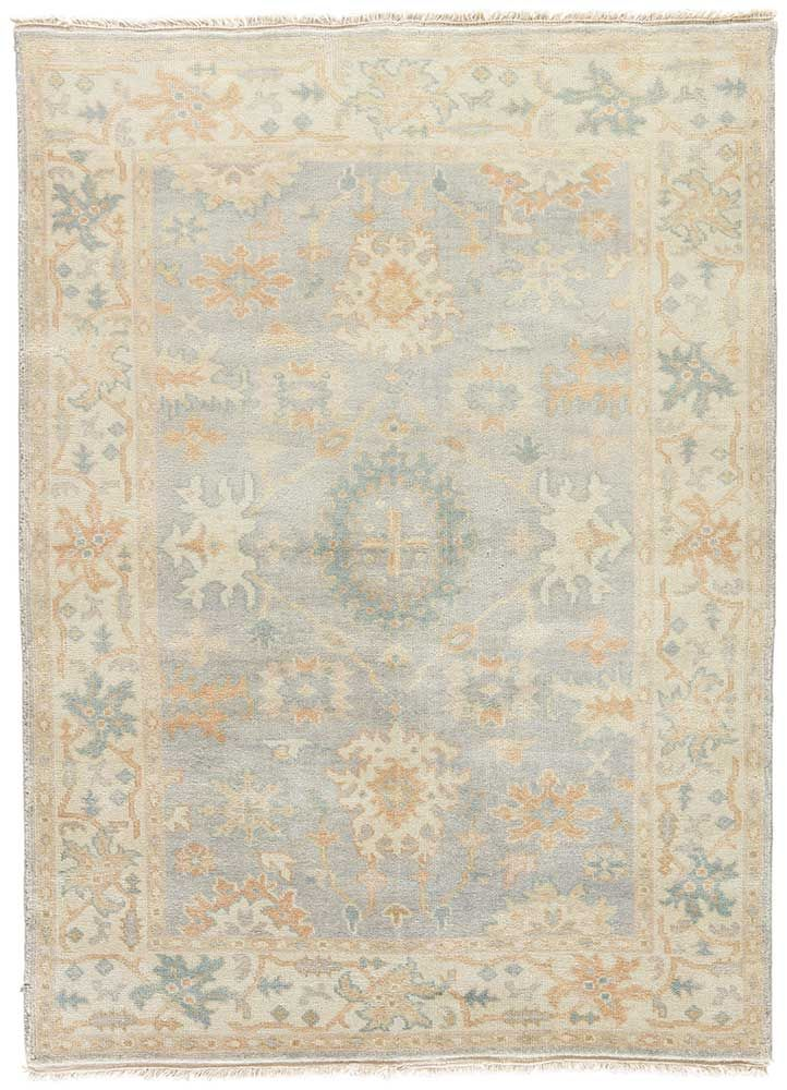 Washed Jewel Tone Motifs On Soft Oatmeal Ground Gives The Cardamon Collection An Easy Elegance In Vintage Oushak Rug Periwinkle Nursery Oushak Rug Living Room