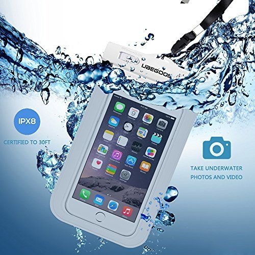 Ubegood Universal Waterproof Case,Dirtproof Case for Apple Iphone 6s,iphone 6s Plus,iphone 6,iphone 6 Plus,Samsung Galaxy S6 Edge/Edge+/s6/s5,Galaxy A8/A7/A5,Samsung note 5/4/3 with Lanyard & Armband (white) - http://pay-monthly-phones-on-02.co.uk/product/ubegood-universal-waterproof-casedirtproof-case-for-apple-iphone-6siphone-6s-plusiphone-6iphone-6-plussamsung-galaxy-s6-edgeedges6s5galaxy-a8a7a5samsung-note-543-with-lanyard-armband/