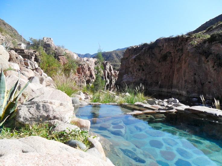 Cacheuta Spa in Mendoza Argentina