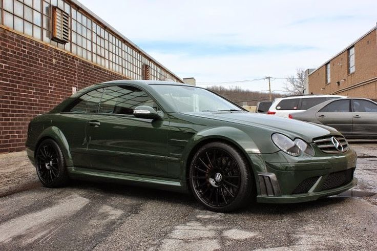 Mercedes-Benz W209 CLK63 AMG Black Series | BENZTUNING | Performance and Style