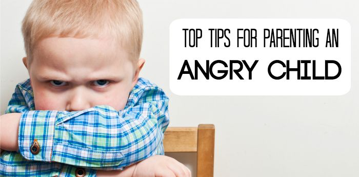 Parenting an angry child takes a lot of hard work and lots of patience. This is full of some of the best parenting tips for parenting an angry child!