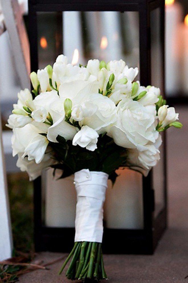 <3 Bouquet de roses blanches <3