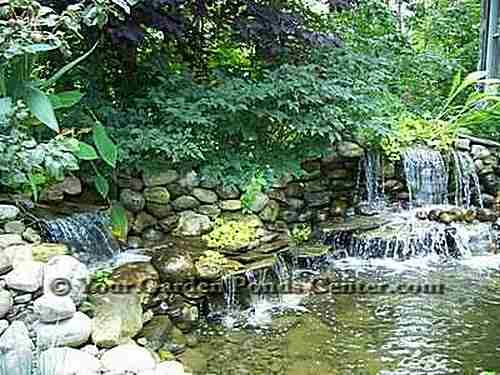 14 best images about manmade waterfalls on pinterest for Garden pool facebook