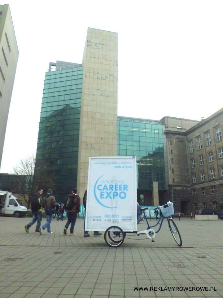 Reklama rowerowa okazała się strzałem w dziesiątkę! Polecamy :)