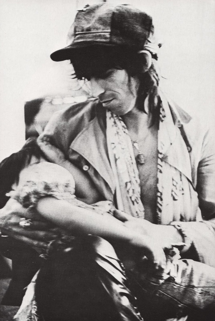 keith richards and angela dandelion #annie_liebovitz #christopher_sykes