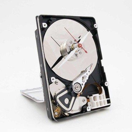 Hard drive clock