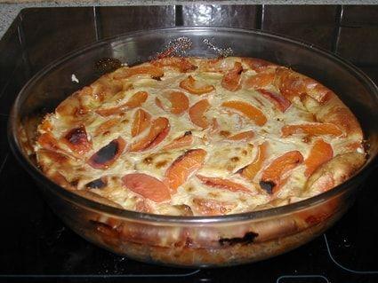 Clafoutis aux abricots simple et léger