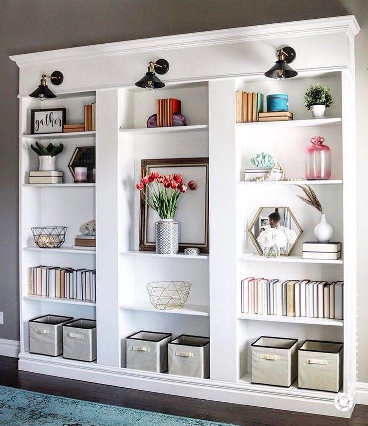 Ikea Bookshelves Ideas: 104 Best Images About Bookcases Ideas On Pinterest