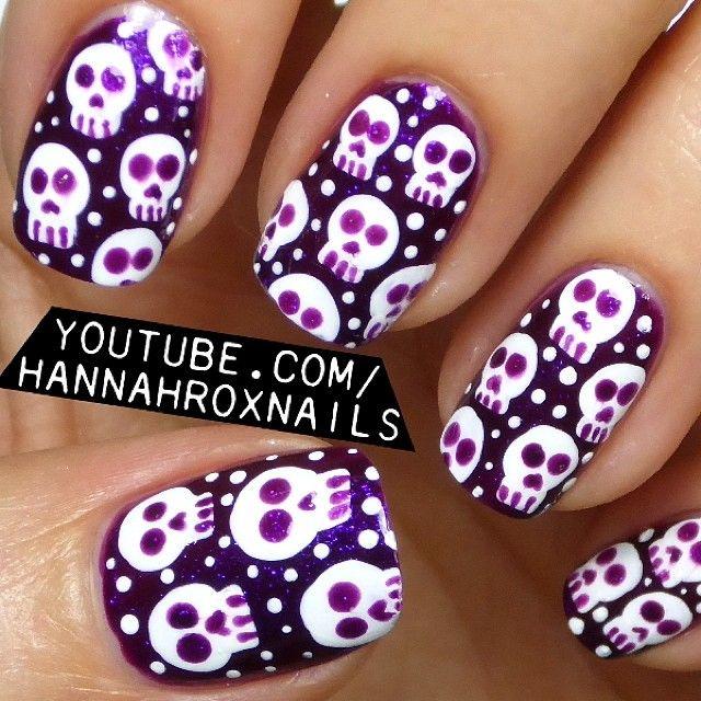 halloween by hannahroxit  #nail #nails #nailart