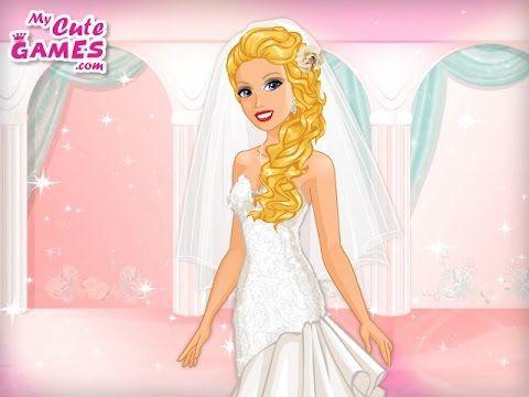 Disney Princess Games Wedding Hair And Makeup