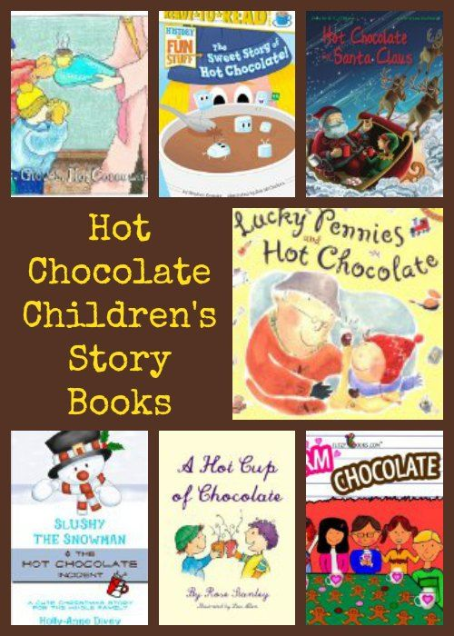 Hot Chocolate Children's Story Books- a great list of story books to snuggle up and read!