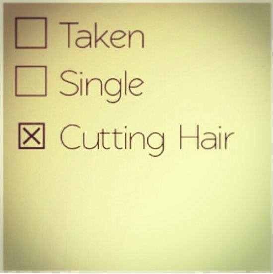 It's a Hairstylist Thing.