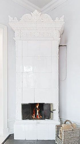 stunningly divine fireplace