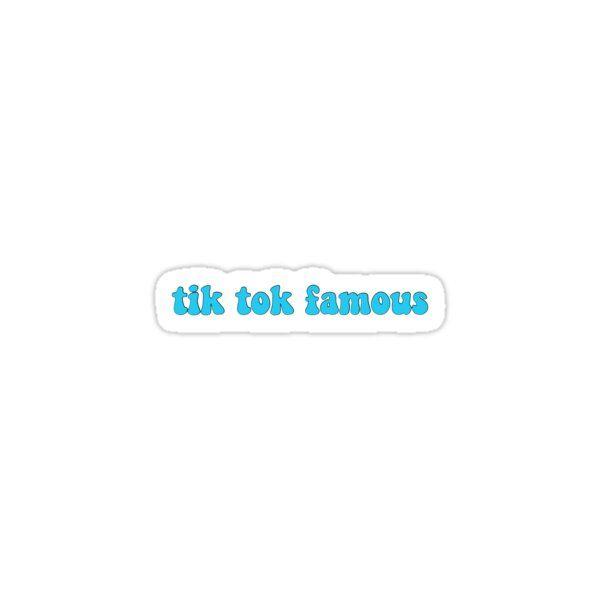 Tik Tok Famous Sticker Sticker By Claireefelipe26 Aesthetic Usernames Cute Backrounds Cute Stickers