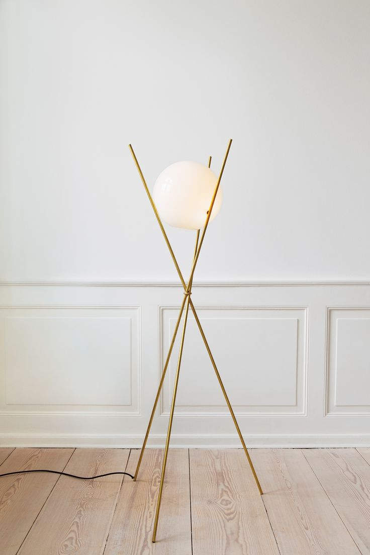 The attenuated Tree in the Moonlight floor lamp was designed by Anastassiades in 2010. Photos courtesy the Apartment.
