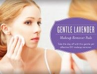 Eye Makeup Remover Using Young Living Lavender Essential Oil