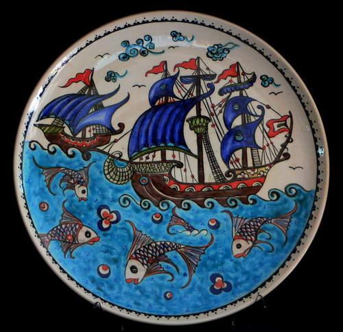 Ottoman tile galleon, türkiye