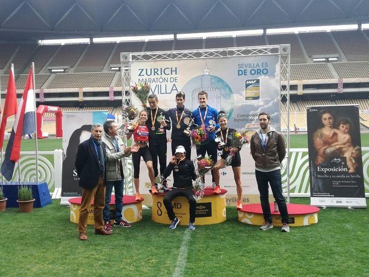 Kaoutar Boulaid logra el nuevo récord del Zurich Maratón de Sevilla