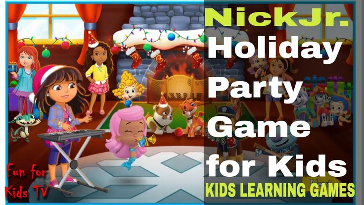 Nick Jr Games Online - Holiday Party Game fo Kids - Nick Jr Holiday Party game