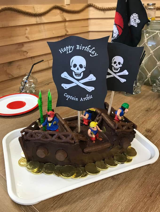 Easy Diy Kids Birthday Cake Ideas From Vj Cooks Plus Pirate
