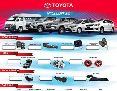 "Check out new work on my @Behance portfolio: ""TOYOTA ACCESSORIES /PROJECT"" http://be.net/gallery/44345117/TOYOTA-ACCESSORIES-PROJECT"