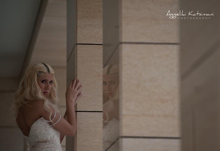 Bridal portrait  www.katsimani.gr