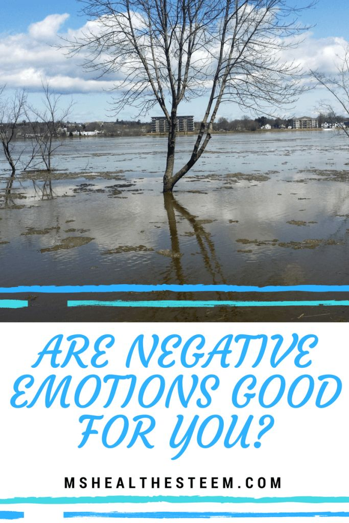 There's something to be said about emotional balance. It is impossible to live a life where you never feel negative emotions. Sadness, anger, fear, anxiety… these are inevitable facts of life. But can this be good for you?