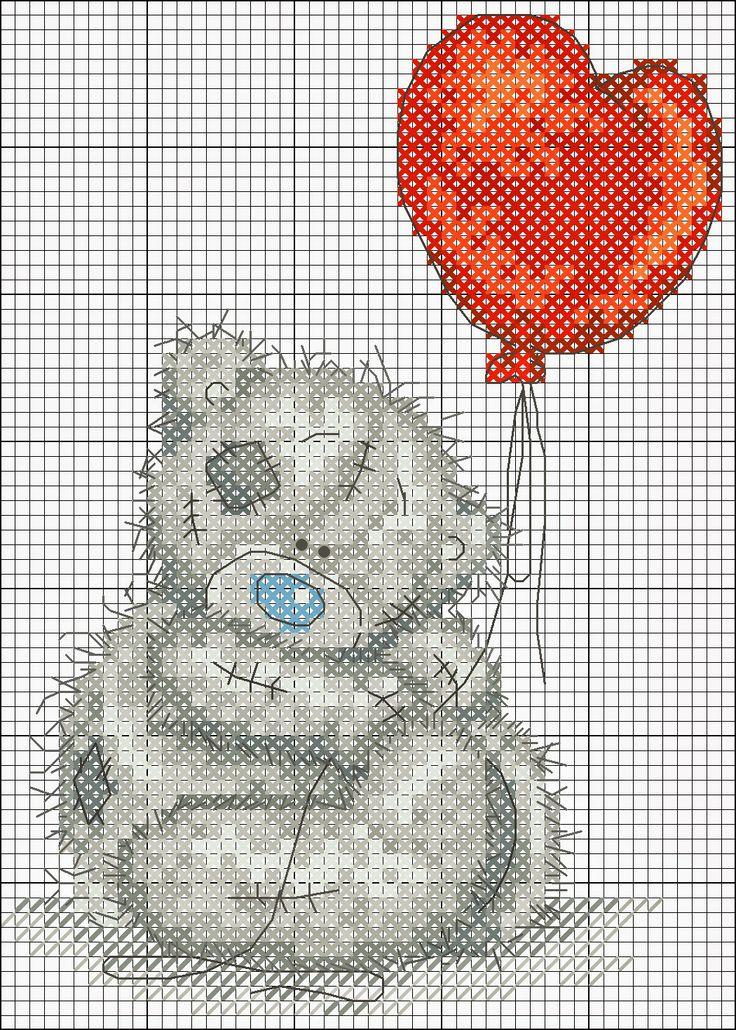 Schemi a punto croce gratuiti per tutti: Raccolta di teneri orsetti a punto croce
