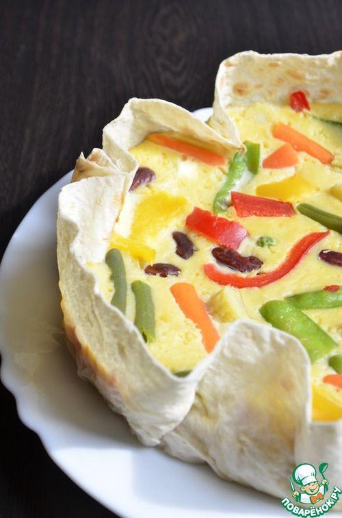 Сырная запеканка - кулинарный рецепт