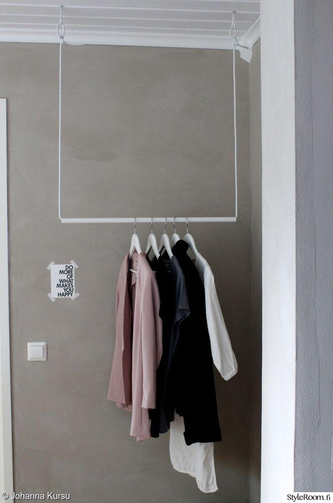 tee-se-itse,vaaterekki,säilytys,makuuhuone,Tee itse - DIY