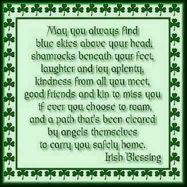 irish blessing may your days be many and your troubles be few in irish new