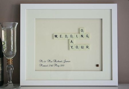 Personalised Wedding Gift Bride : 17 Best images about Wedding Gifts on Pinterest Personalized wedding ...