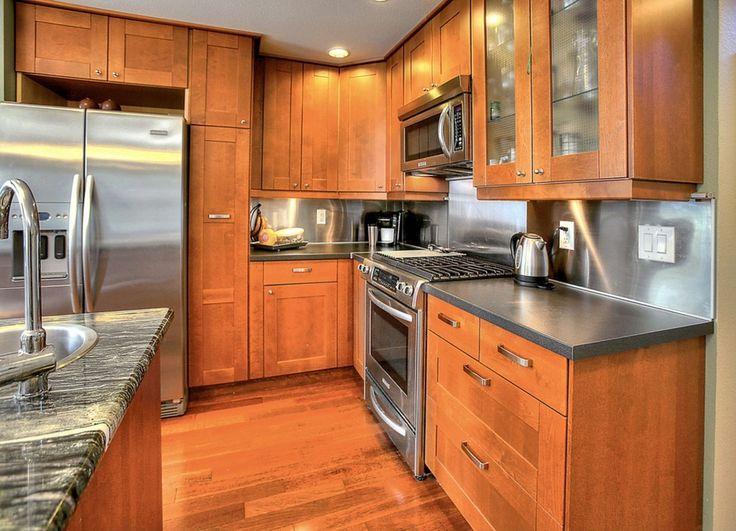 Craftsman Kitchen With Kitchen Island Wilsonart 36 In X 96 In Oiled Soapstone Laminate Kitchen