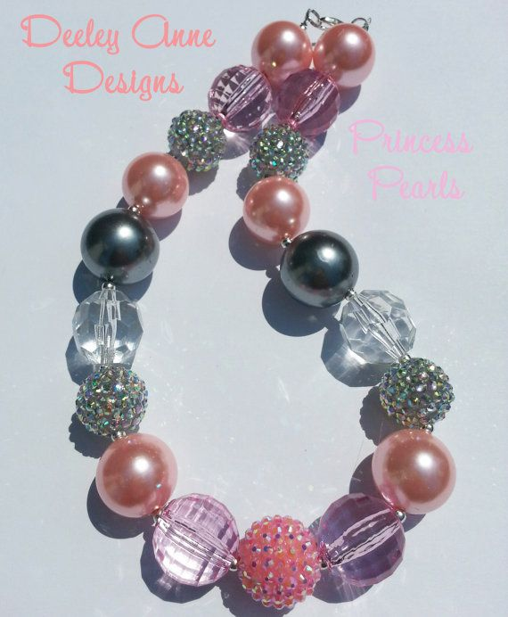 Chunky Child Necklace by Deeley Anne Designs on Etsy, $22.00