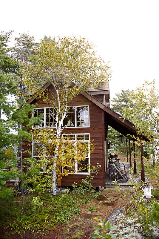 Beautiful off the grid cottage on an island all to itself adirondack island pinterest - Off grid hobbit house ...