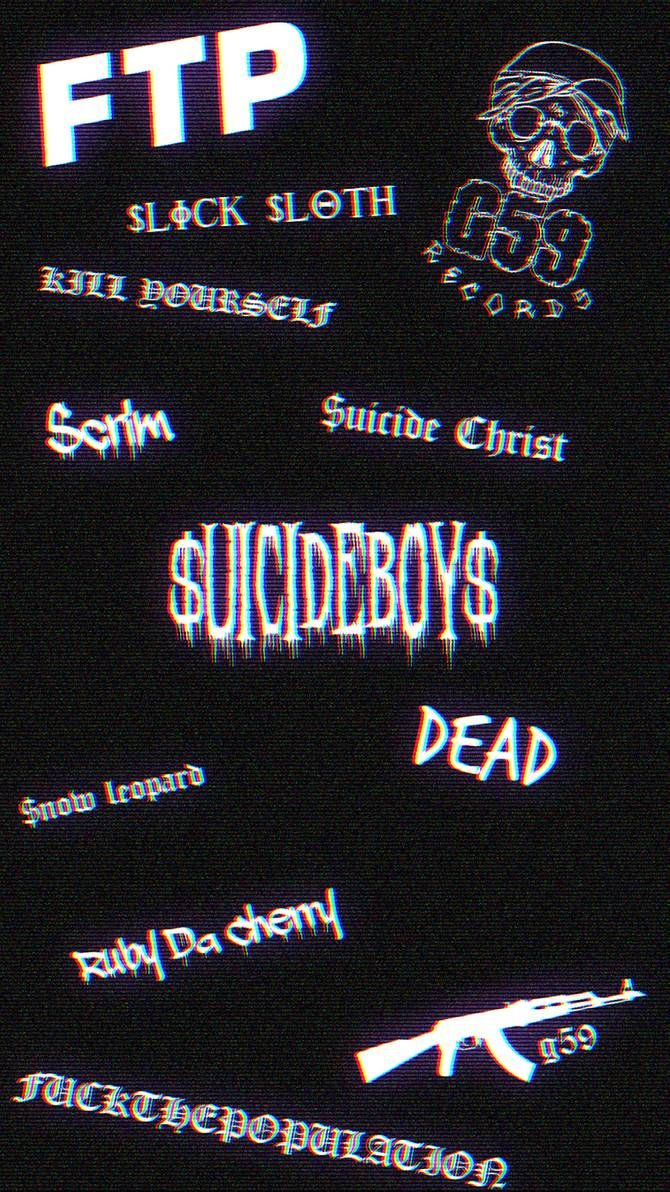 Uicideboy Mobile Wallpaper By Madebysilent On Deviantart In 2020 Glitch Wallpaper Emo Wallpaper Edgy Wallpaper