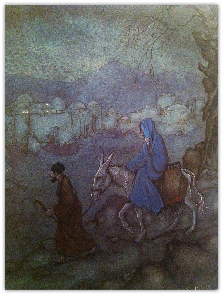 Anton_Pieck_Christmas_Bethlehem.jpg (1209×1600)