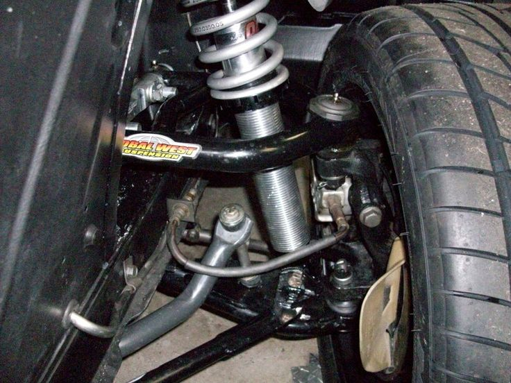 67 Mustang Front Suspension