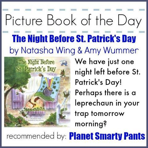 "@sunnyvale422 says, ""It's my turn to recommend a picture book of the day, and I chose a very fun read that is perfect for today. There is still time to build a leprechaun trap and catch that leprechaun!"""