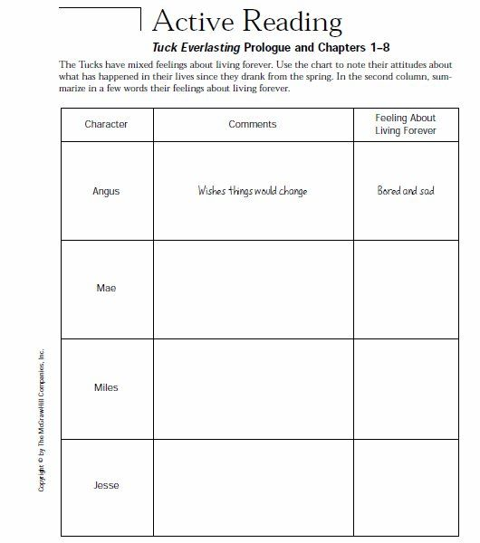 Printables Tuck Everlasting Worksheets 1000 ideas about tuck everlasting on pinterest louis sachar fifth grade and number the stars
