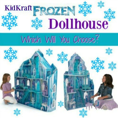KidKraft Disney Frozen Dollhouse - OMG! What little girl wouldn't LOVE either one of these?  I want it....!
