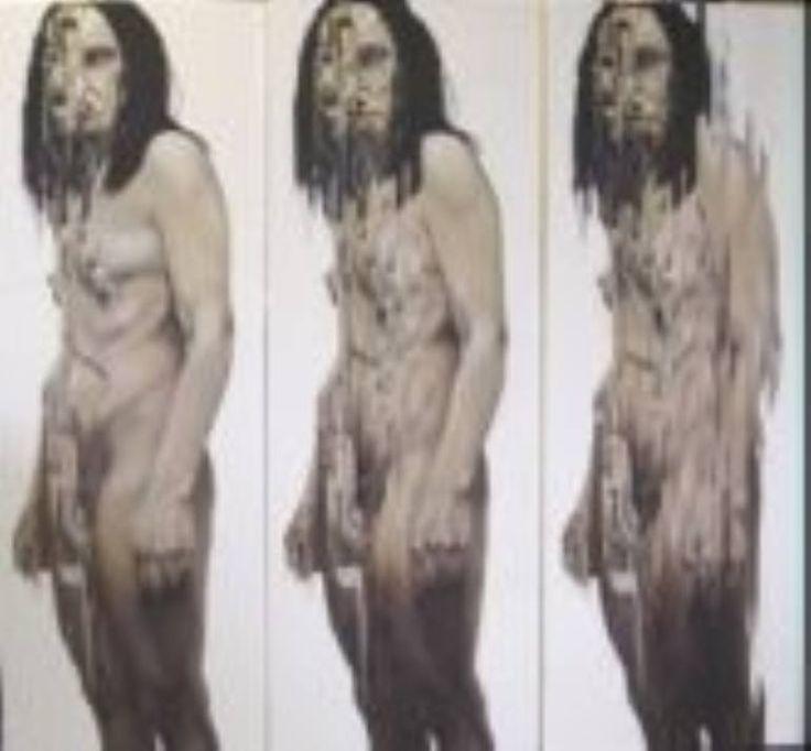 "Saatchi Art Artist Gry Hege Rinaldo; , ""Fragmentation 1, 2, 3."" #art.  Oil on canvas."