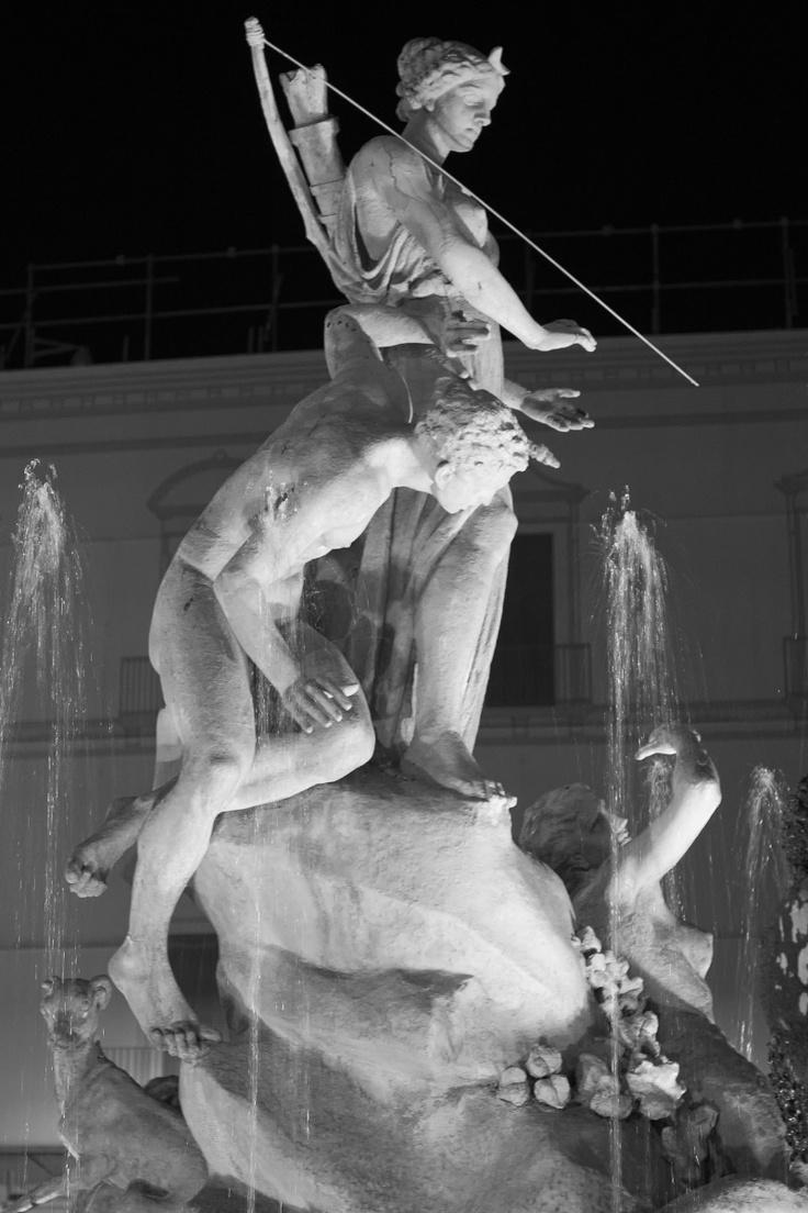 Fontana Piazza Archimede.