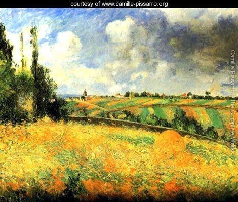 Fields  Camille Pissarro