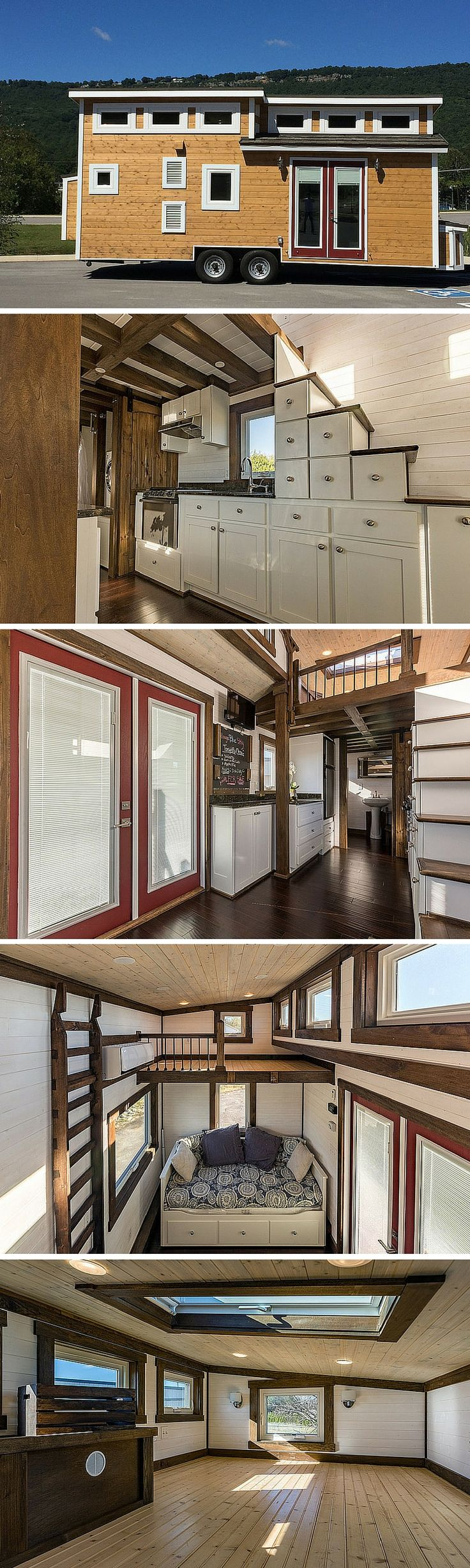 The Nooga Blue Sky tiny house by Tiny House Chattanooga