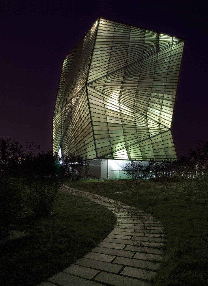 Centre for Sustainable Energy Technologies in Ningbo, China by Mario Cucinella Architects