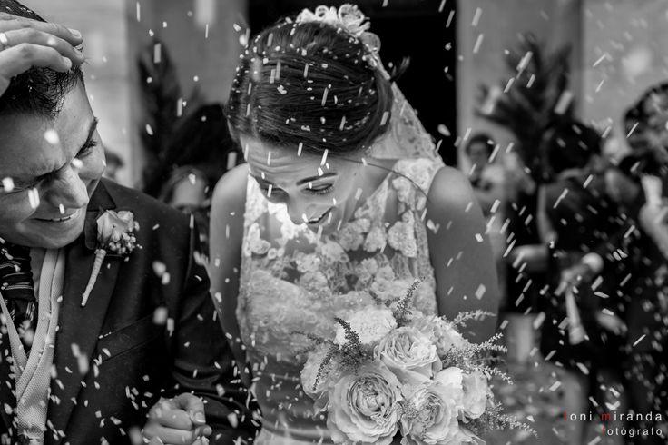 Salida de recién casados en Iglesia de San Roque y San Sebastián de Alcoy, Alicante