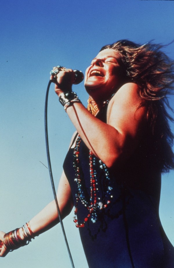 Janis Joplin, not quite the face, but by f--k, did she have the lungs! One of the 'sexiest' singers of all time...