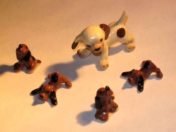 Antique Miniature Hagen Renaker Retired Dalmatian Pup And Etsy In 2020 Dalmation Puppy Ceramic Animals Miniatures