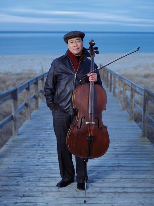 Yo Yo Ma - lovely man, lovely music.